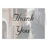 Gracias las tarjetas por el tema veneciano