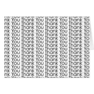 Gracias le agradecen le agradecen le agradecen le tarjeta de felicitación