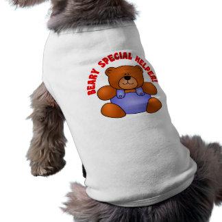Gracias lindas a un voluntario muy especial del ay camisa de mascota