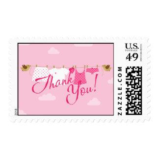 Gracias línea de ropa sellos postales