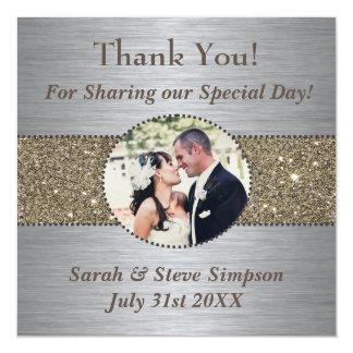Gracias los imanes del boda invitaciones magnéticas
