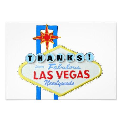 Gracias los recienes casados de Las Vegas Anuncios Personalizados