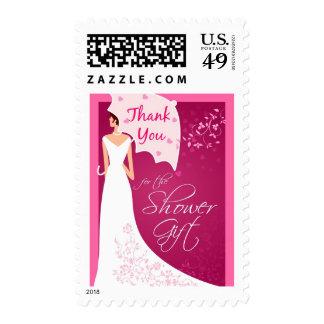 Gracias - los sellos nupciales del regalo de la du