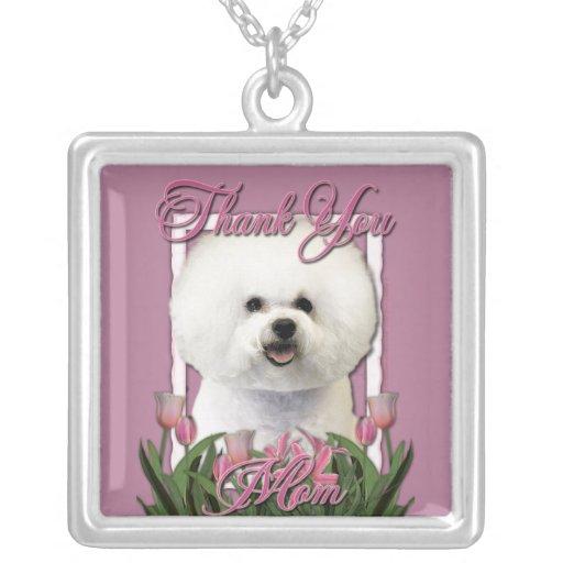 Gracias - los tulipanes rosados - Bichon Frise Collar