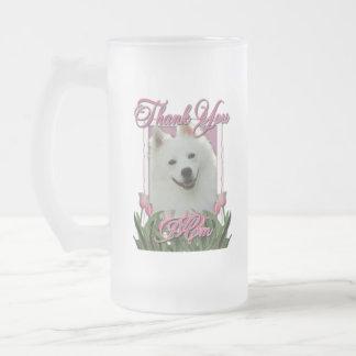 Gracias - los tulipanes rosados - esquimal taza de cristal
