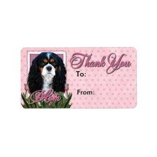 Gracias - los tulipanes rosados - los caballeros - etiquetas de dirección
