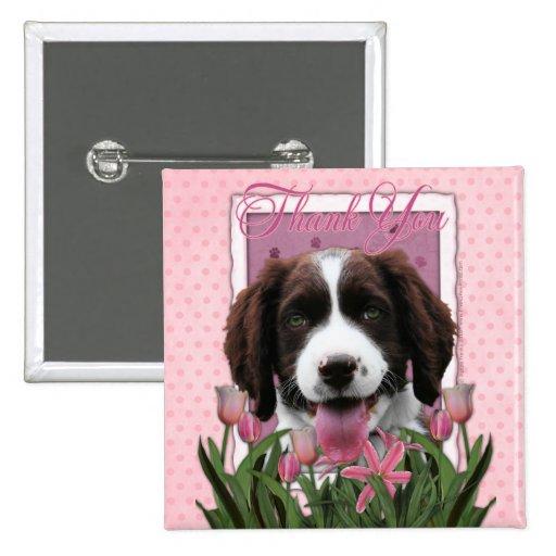 Gracias - los tulipanes rosados - perro de aguas d pin