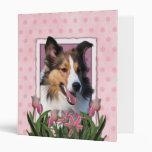Gracias - los tulipanes rosados - Sheltie