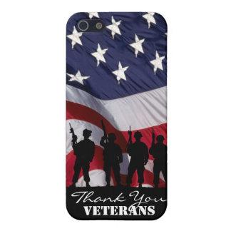 Gracias los veteranos iPhone 5 carcasas