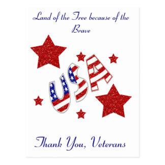 Gracias los veteranos postales