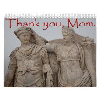 Gracias, mama calendarios