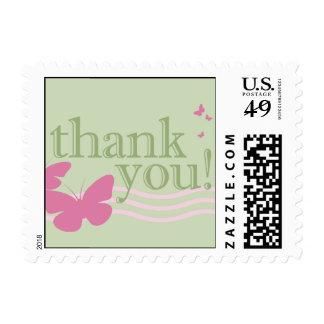 gracias: mariposas: timbres postales
