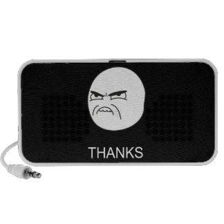 Gracias Meme - altavoz negro portátil