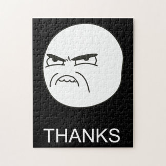 Gracias Meme - rompecabezas negro
