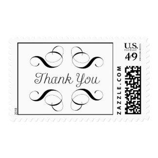 Gracias - mensaje simple en sello