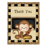 Gracias Monkey la postal de la escuela