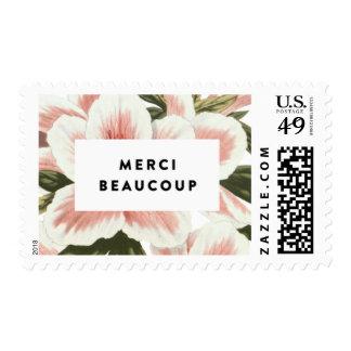 Gracias mucho timbre postal
