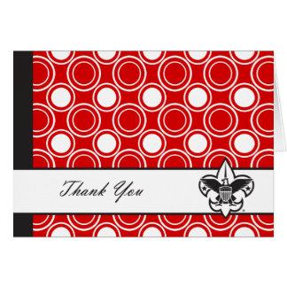 Gracias Notecard Felicitación