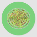 Gracias o al pegatina de Namaste