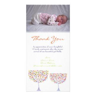 Gracias observar la plantilla de la tarjeta de la tarjeta personal