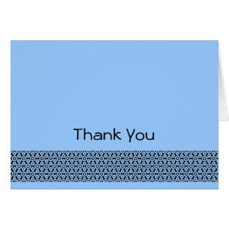 Gracias observar tarjeta