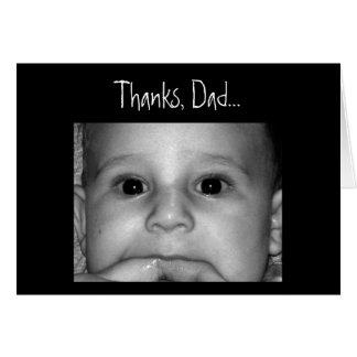 Gracias papá… felicitaciones