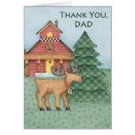 Gracias papá - tarjeta de felicitación