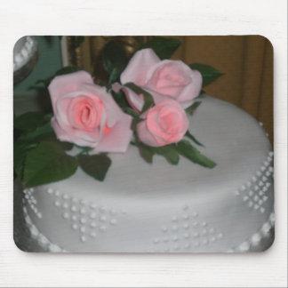 Gracias pastel de bodas tapetes de raton