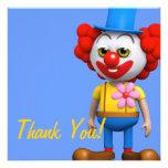 ¡Gracias! Payaso divertido gracias Anuncios Personalizados