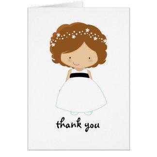 Gracias personalizadas por ser nuestra tarjeta del