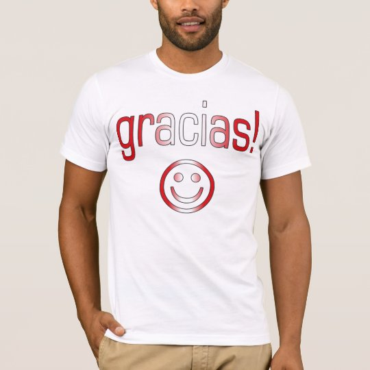 Gracias! Peru Flag Colors T-Shirt