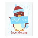 Gracias pingüino comunicados personalizados