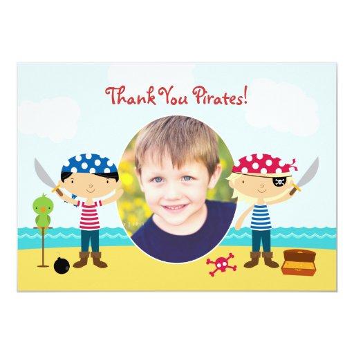 Gracias piratear la tarjeta de la foto invitacion personal