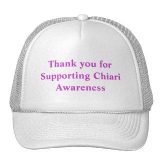 Gracias por apoyar la conciencia de Chiari Gorros Bordados