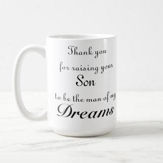 Gracias por criar a su hijo para ser el hombre de taza clásica