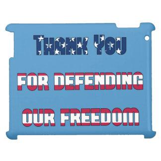 Gracias por defender nuestra libertad