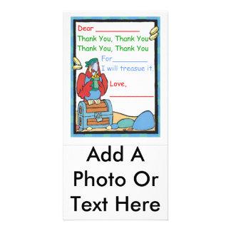 Gracias por (el regalo de A) Tarjetas Personales Con Fotos