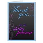 ¡Gracias por el Sh! presente del equipo teleescrit Felicitaciones