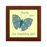 ¡Gracias por inspirarme! Caja de regalo de la mari