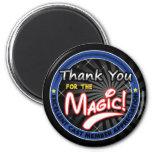 Gracias por la magia - aprecio del miembro del rep iman de nevera