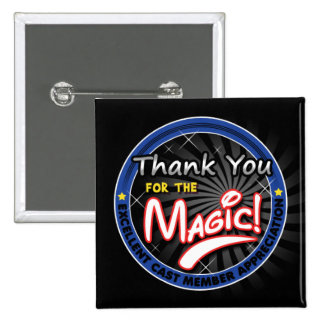 Gracias por la magia - aprecio del miembro del rep pin