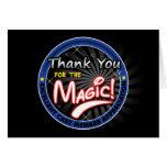 Gracias por la magia - aprecio del miembro del rep felicitacion