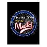 Gracias por la magia - aprecio del miembro del rep postal