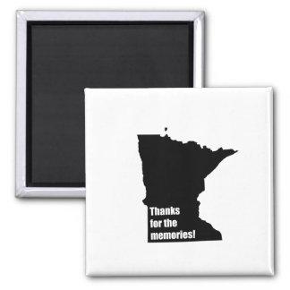 Gracias por las memorias Minnesota Iman Para Frigorífico