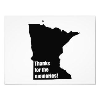 Gracias por las memorias Minnesota Impresiones Fotograficas