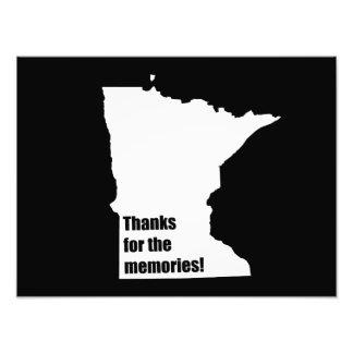 Gracias por las memorias Minnesota Impresión Fotográfica