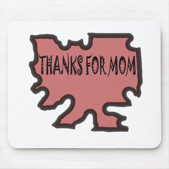 Gracias por mamá alfombrilla de ratón