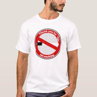 Gracias por no fumar playera