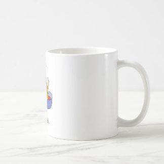 Gracias por ocuparse el perro taza de café