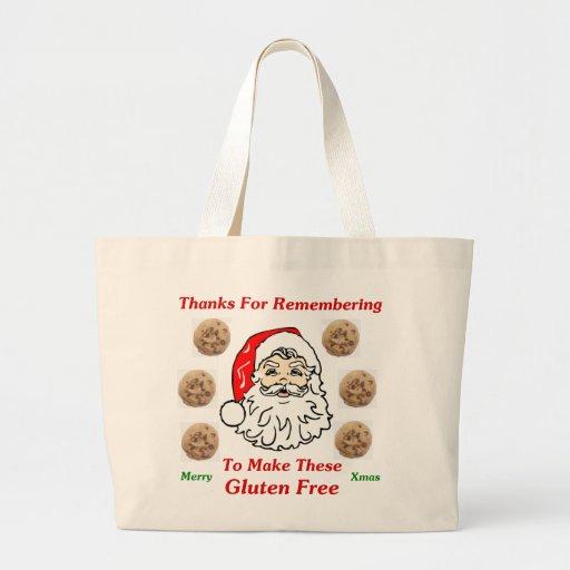 Gracias por Remebering para hacer éstos el gluten  Bolsa Tela Grande
